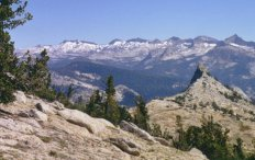 Columbia Finger and Clark Range in Yosemite