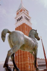 Bell tower of the San Marco Cathedral, Venice
